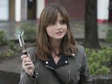 Jenna Coleman as Clara in Doctor Who S08E09: 'Flatline'