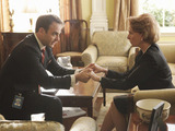 Paul Adelstein and Kate Burton in Scandal