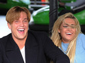 See which TOWIE stars are filming a double date at the amusement park.