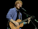 Ed Sheeran performs at the O2 Arena in London