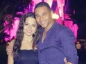 Corbin Bleu and Sasha Nicole Clements get engaged at Disney World.