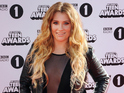 Ella Henderson celebrates selling over one million copies of 'Ghost' in America.