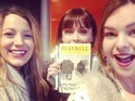 Blake Lively, Amber Tamblyn and Alexis Bledel and America Ferrara get together in NYC.