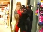 Watch Chewbacca break up a fight between Mr Incredible and Batgirl