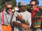 See Tinchy Stryder and the Chuckle Brothers' 'To Me, To You' video