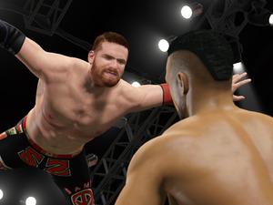 WWE 2K15 career mode