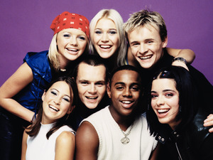 S Club 7 press shot, 2000