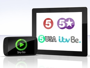 Channel 5 and ITVBe among the new Sky Go channels