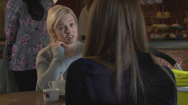 Theresa confides in Sienna about her recent troubles