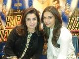Farah Khan and Deepika Padukone