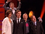 Benedict Cumberbatch photobombs his waxwork on Graham Norton