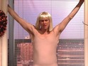 Jim Carrey and Kate McKinnon imitate Sia's 'Chandelier' music video.