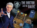 The free game encourages users to learn coding as they control Peter Capaldi's Doctor.