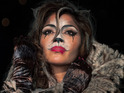 The first pictures of Nicole Scherzinger as Grizabella are unveiled.