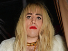 Nick Grimshaw is terrifying as Rita Ora at Ross Halloween party