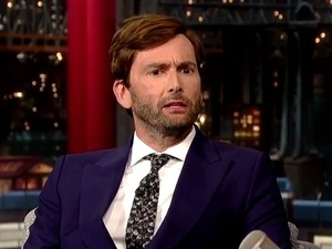David Tennant on Late Show with David Letterman