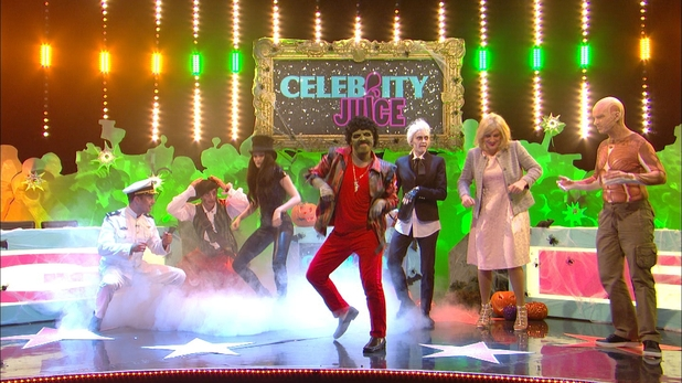 Celebrity juice halloween special jessie