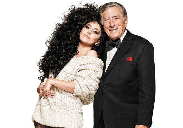 Lady Gaga & Tony Bennett for H&M's holiday campaign
