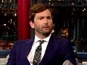 Tennant teaches Letterman about Doctor Who