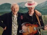 George Ezra and Ian McKellen in 'Listen To The Man' video