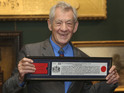 Sir Ian McKellen at a photocall after receiving the Freedom of the City of London at the Guildhall in London