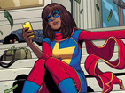 Ms Marvel graffiti added to anti-Islam ads