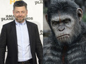 Andy Serkis and the actors who brought to life the stars of Dawn of the Planet of the Apes.