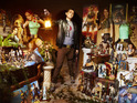 Rodrigo Martin Santos has more than 2,000 pieces of Tomb Raider memorabilia.