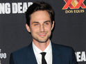 Andrew J West and ex-Greek co-star Amber Stevens tie the knot in Los Angeles.