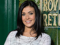 Kym Marsh says that Michelle will stand by Steve after the mini-bus accident.