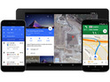 The new look introduces bolder colours with the introduction of Material Design.