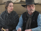 Tommy Lee Jones directs and stars opposite Hilary Swank in a wild western.