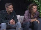 Harry Styles and Liam Payne talk about new album Four and moving into songwriting.