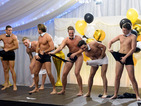 See the male cast members do the Full Monty, and Gemma's off to the jungle!
