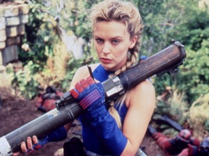 Kylie Minogue as Cammy in Street Fighter (1994)