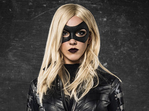 Katie Cassidy as Black Canary in Arrow