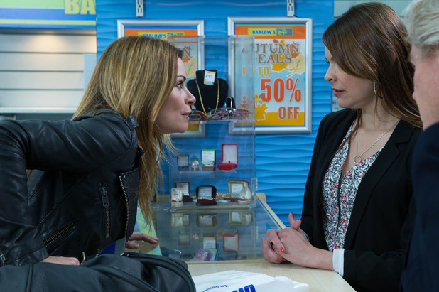 Carla storms into the shop and demands to buy all Rob's possessions