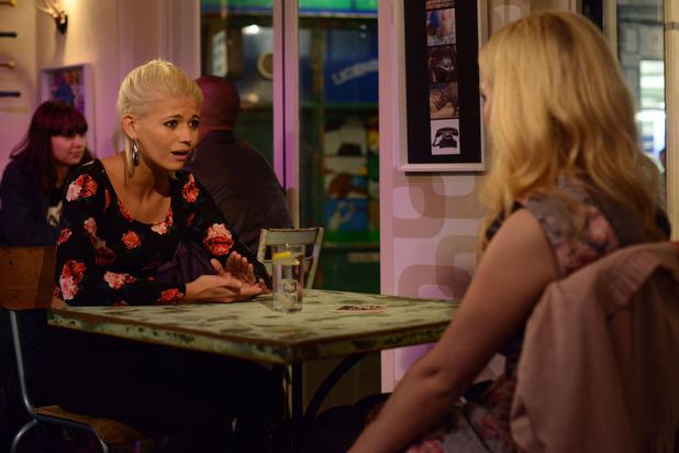 Abi tells a shocked Lola that Ben is her boyfriend
