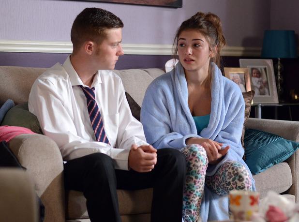 Cindy confides in Liam