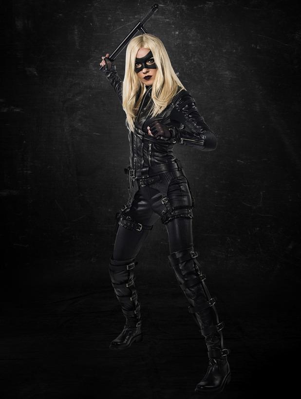 Katie Cassidy as Arrow's Black Canary