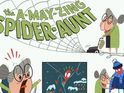 Cale Atkinson is writing and drawing the 'A-May-Zing Aunt May' strip.