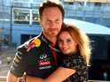 "Spice Girls star's spokesperson wishes the pair ""happiness and good health together""."