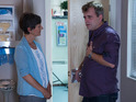 Steve seeks help from a doctor in tonight's Coronation Street episodes.