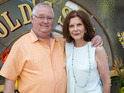 Ian Smith and Anne Charleston have returned to filming at the soap.