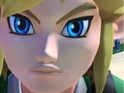 Link has his unblinking eyes on the chequered flag in this new Mario Kart 8 Vine.