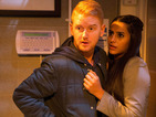 Coronation Street spoiler pictures: Alya and Gary to be caught out?