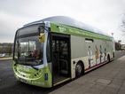 Bus powered by human waste goes into service between Bristol and Bath