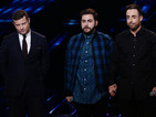 The X Factor singer was sent home after a sing-off with Andrea Faustini.