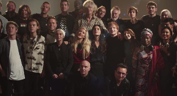 Band Aid 30 stars