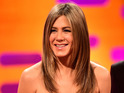 The actress appears on Friday's The Graham Norton Show.
